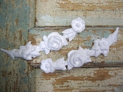 Shabby Rose Vines (set of 2)