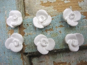 Shabby Roses (set of 6)