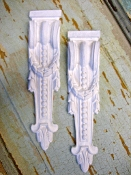 Large Architectural Drops (set of 2)