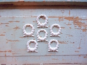 Chic Baby Wreaths (set of 6)