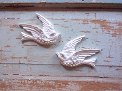 Chic Bird Appliques (set of 2)